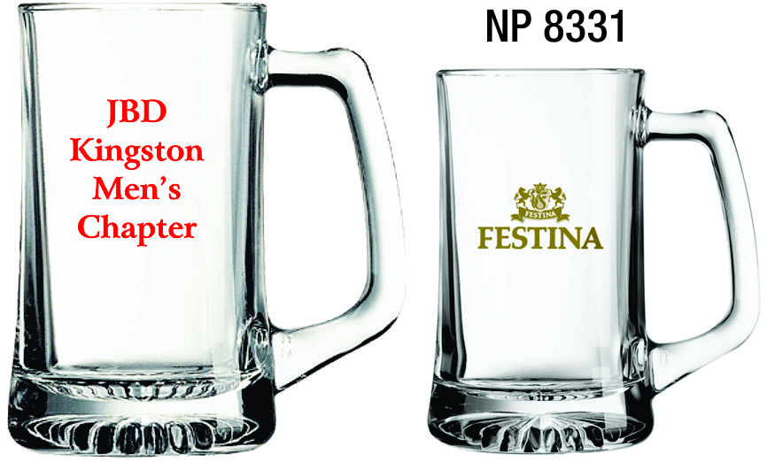 NP8331: Glass Beer Mug