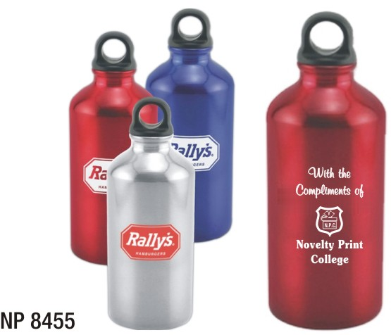 NP8455: Aluminum Water Bottle (unprinted)