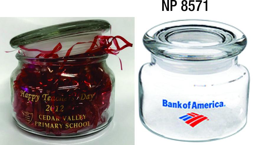 NP8571: 8oz Glass Jar
