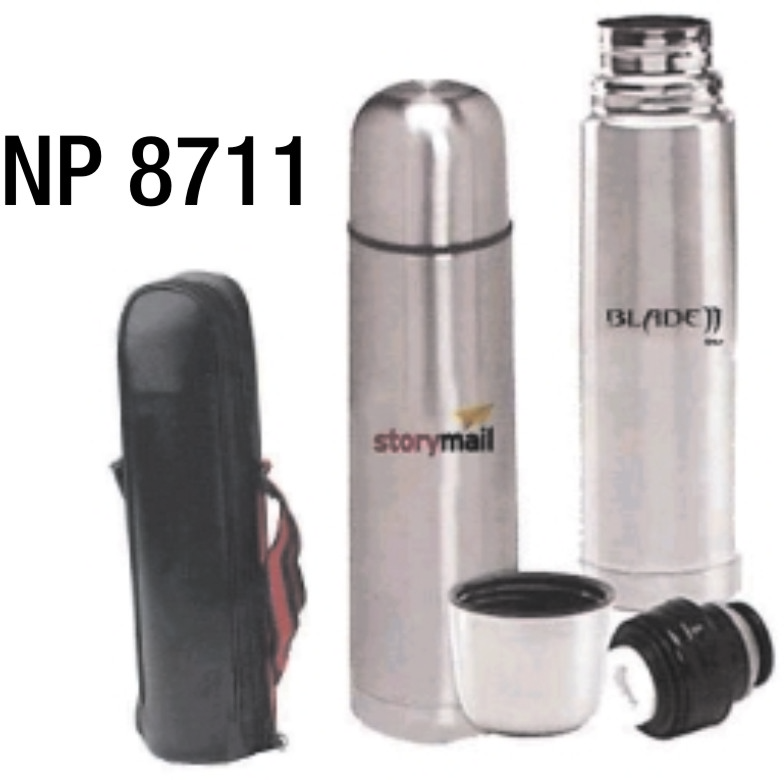 NP8711: 12oz Stainless Steel Thermos