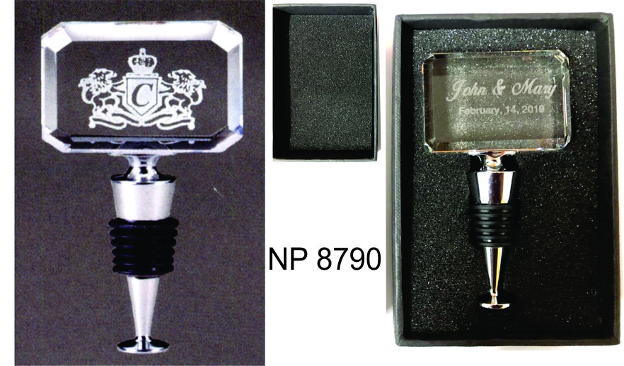 NP8790: Crystal Bottle Stopper