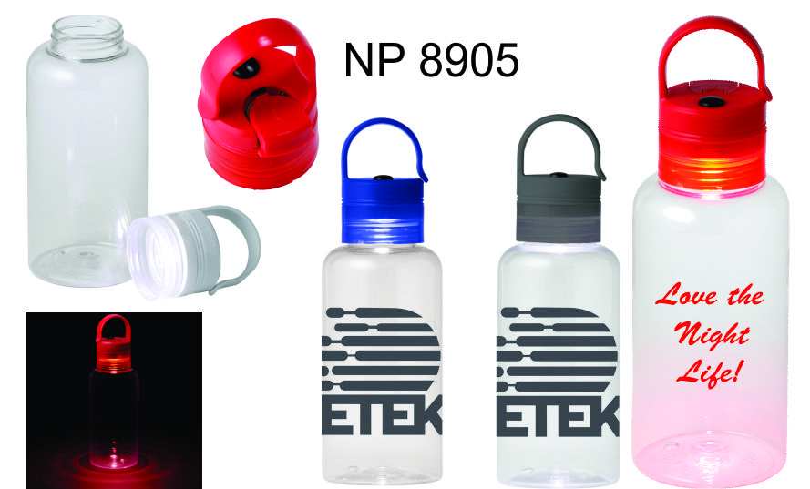 NP8905: Bottle with Light