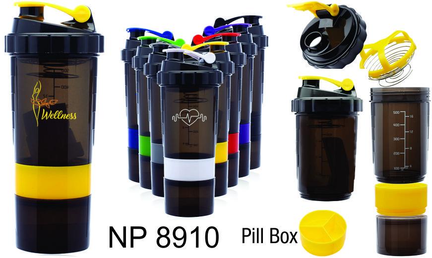 NP8910: Smart Shaker Bottle