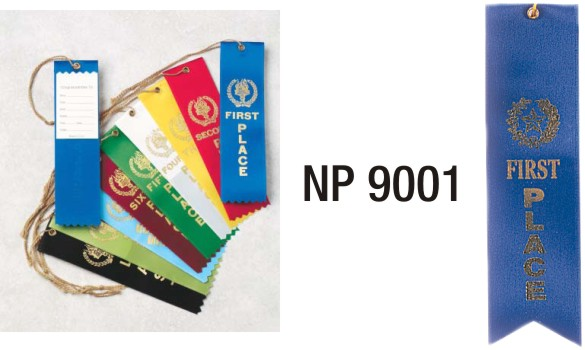 NP9001: 1st Place Ribbon (unprinted)