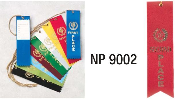 NP9002: 2nd Place Ribbon (unprinted)