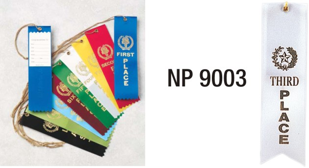 NP9003: 3rd Place Ribbon (unprinted)