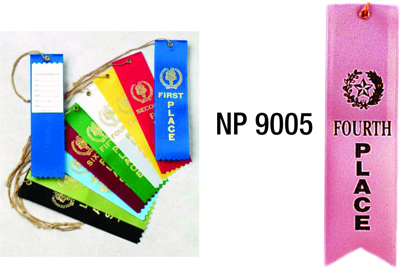 NP9005: 4th Place Ribbon (unprinted)