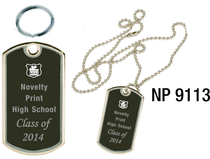NP9113: Dog Tag / Key Tag