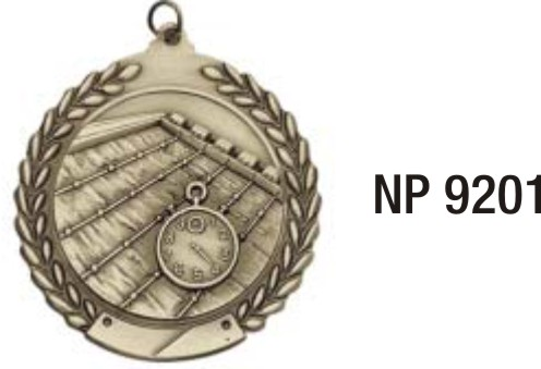 NP9201: Swimming Medal