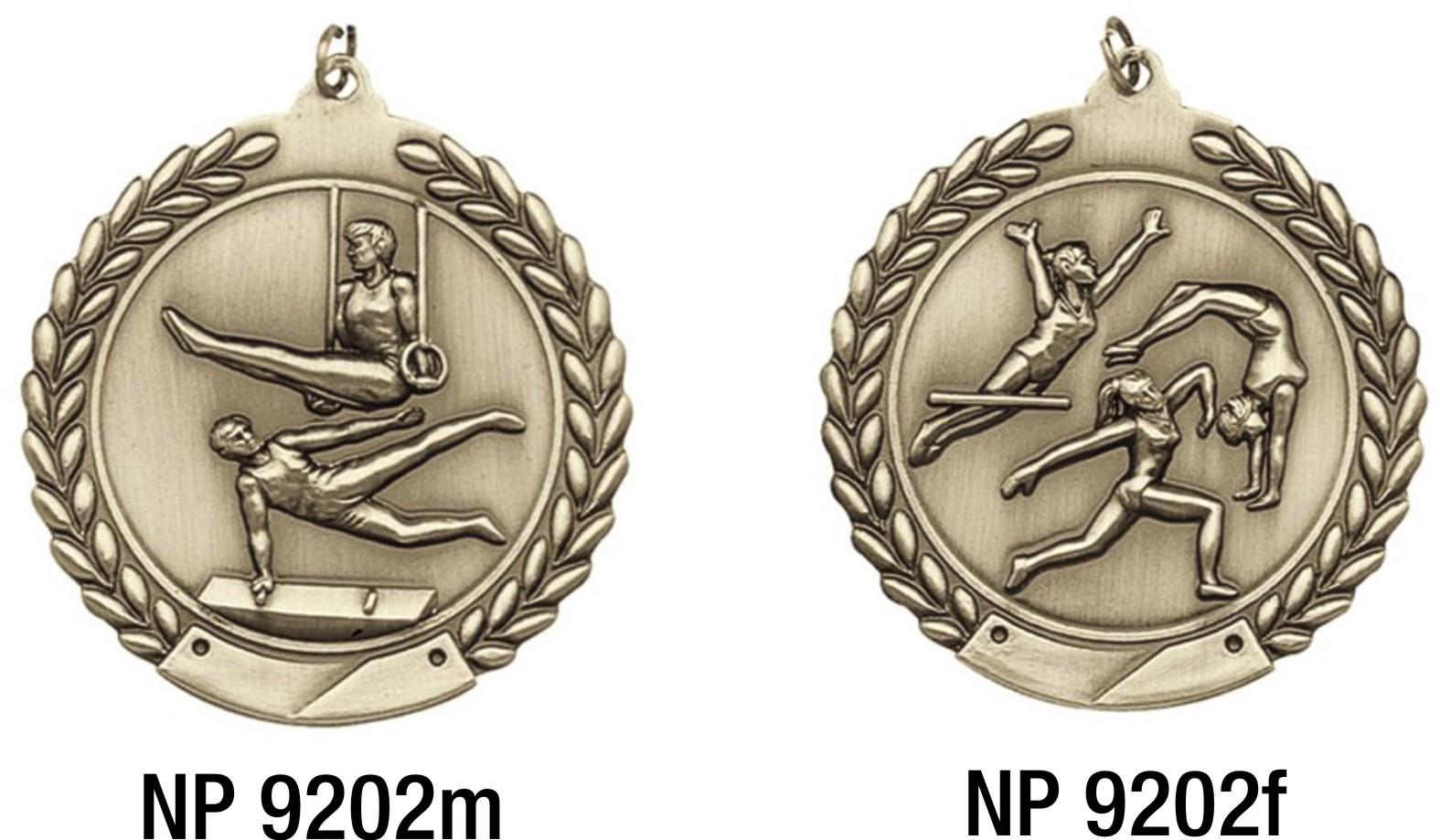 NP9202: Gymnastics Medal