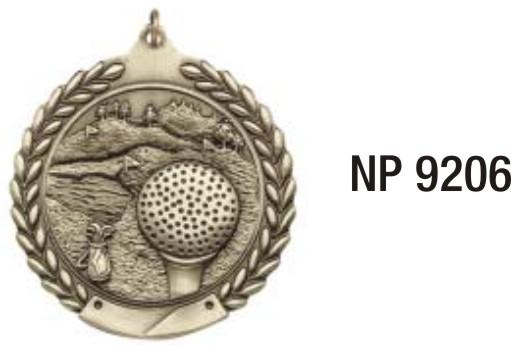 NP9206: Golf Medal