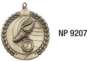 NP9207: Track & Field Medal