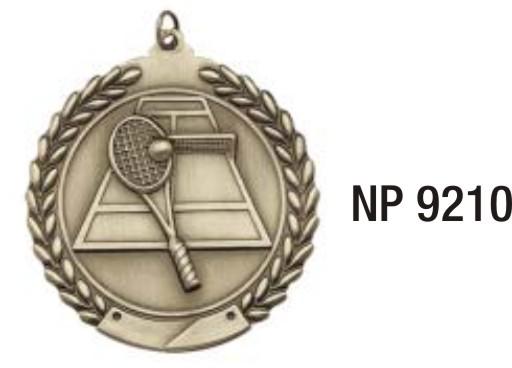 NP9210: Tennis Medal
