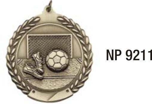NP9211: Football Medal
