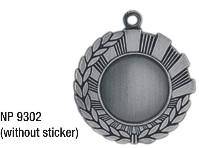 NP9302: Insert Medal (silver)