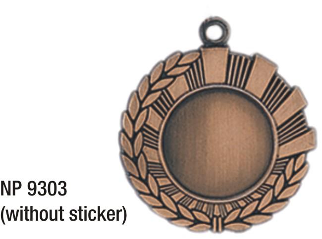 NP9303: Insert Medal (bronze)