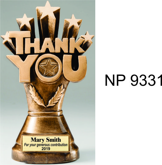 NP9331: Thank You Trophy