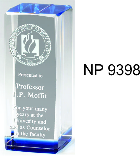 NP9398: Crystal Block Award