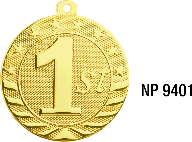 NP9401: First Place Medal