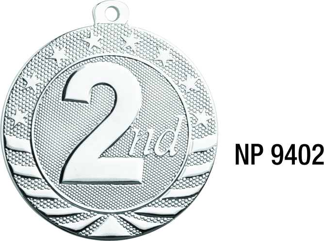 NP9402: Second Place Medal