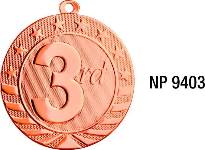 NP9403: Third Place Medal