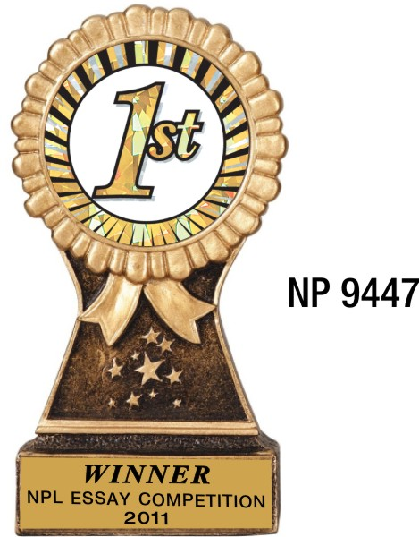 NP9447: Resin Trophy