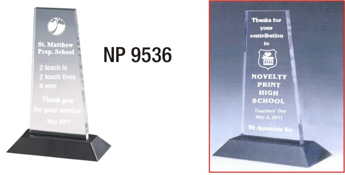 NP9536: Acrylic Prism Trophy
