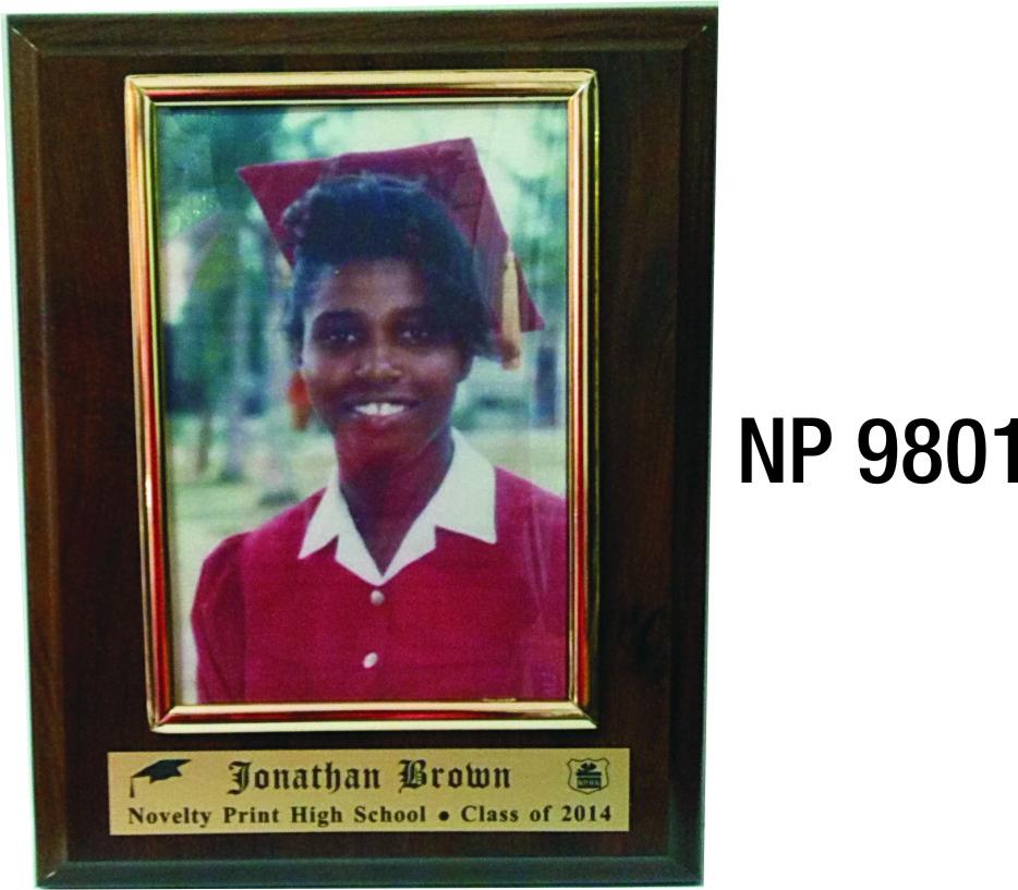 NP9801: Slide In Photo Plaque