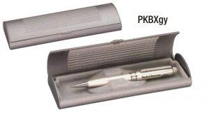 PKBXgy: Grey Pen Box (unprinted)