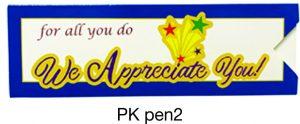 PKpen2: We Appreciate You Paper Pen Sleeve