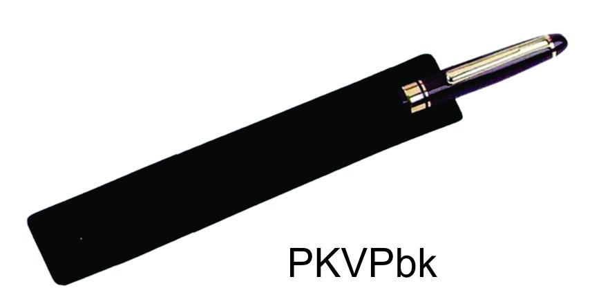 PKVPbk: Black Velvet Pen Pouch